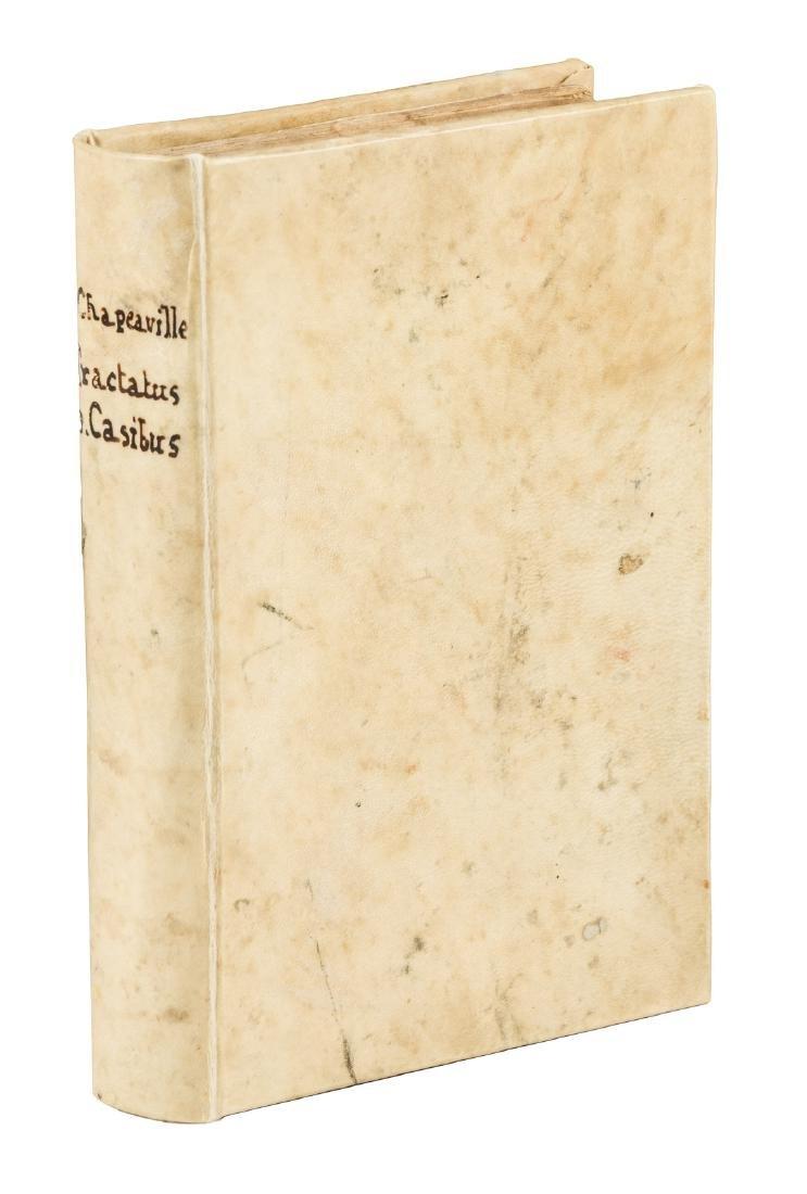 Chapeauville, Tractatus de Casibus, 1610