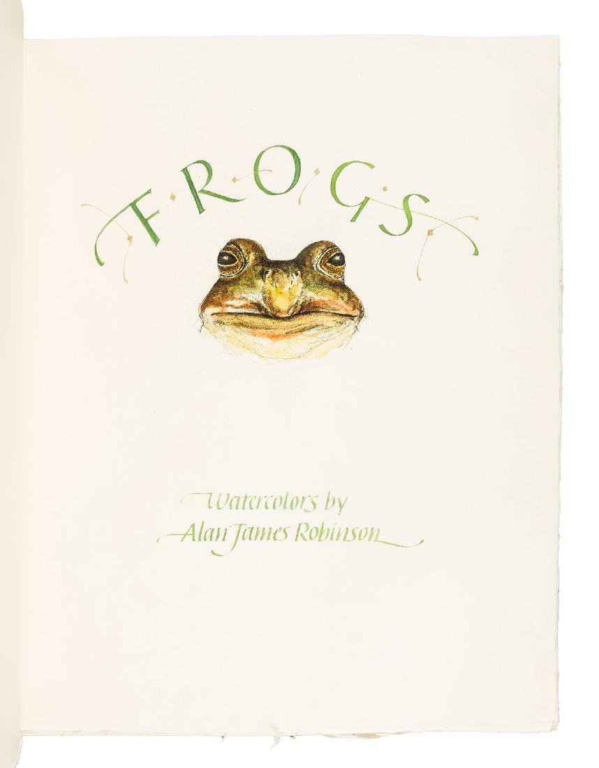 Frogs: 19 unique watercolors by  Alan James Robinson - 3