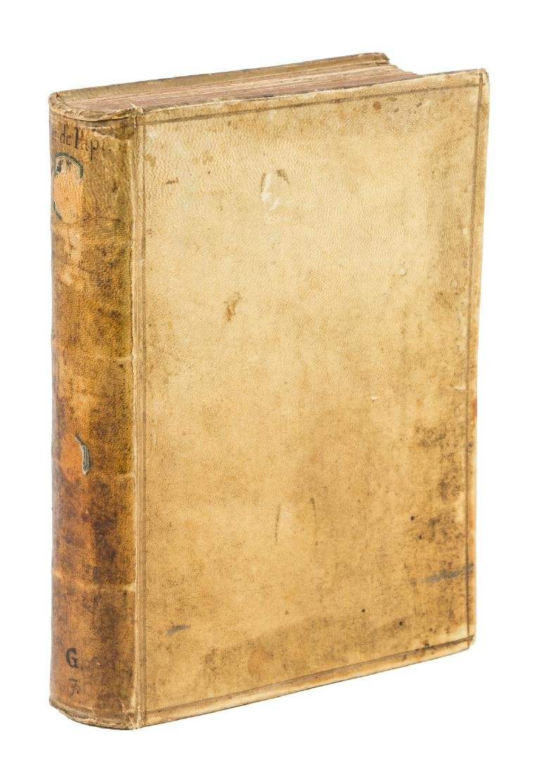 Ciccarelli, Le Vite de Pontefici First Ed. 1588