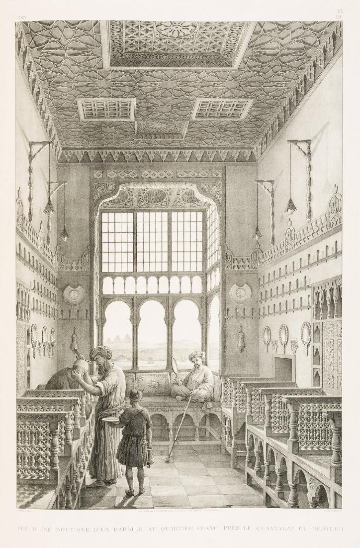 Stunning lithograph views of Cairo in the 1820s