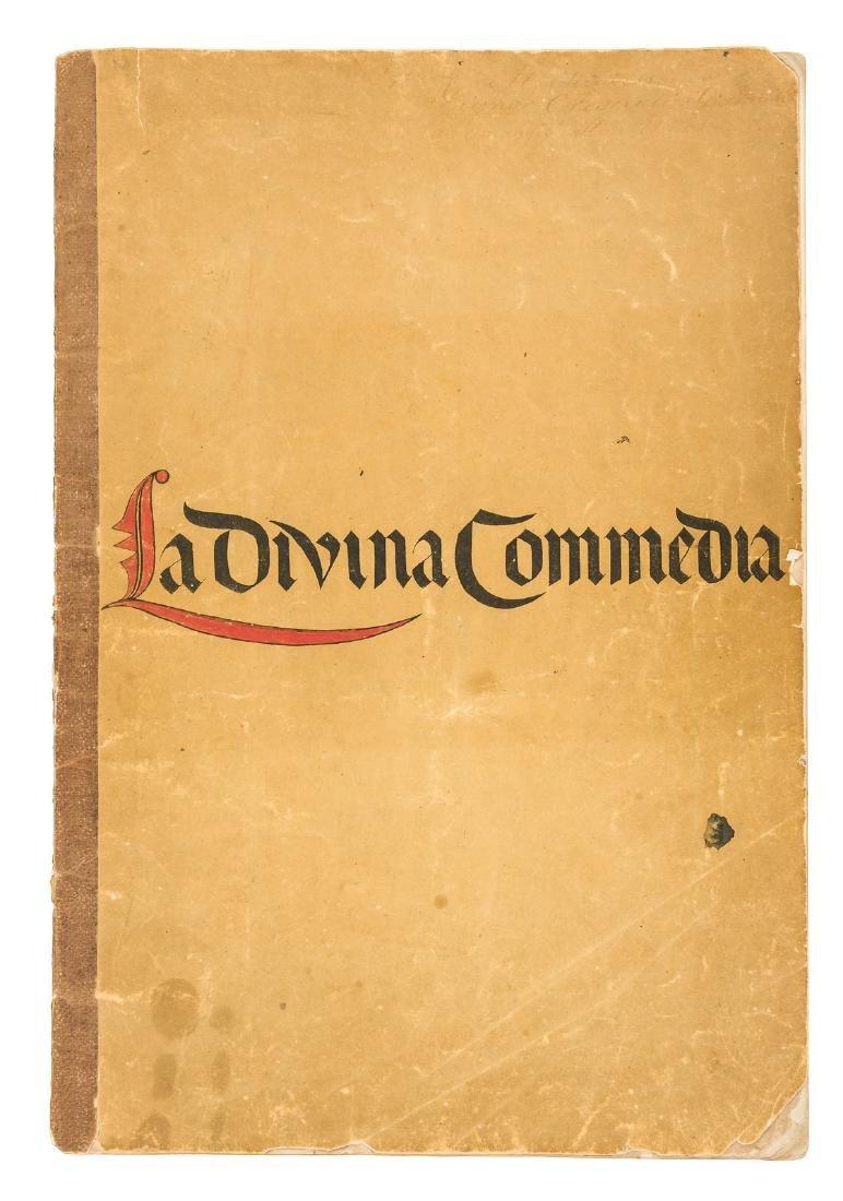 La Materia Della Divina Commedia 1855