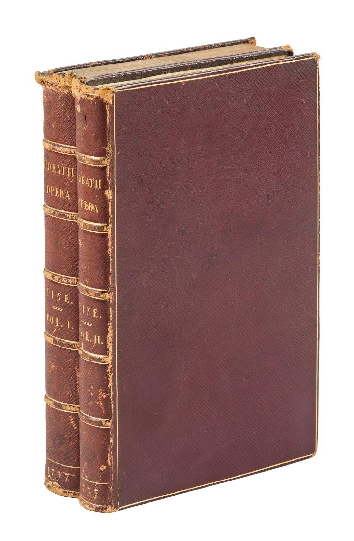 John Pine's Horace First Edition 1733-37