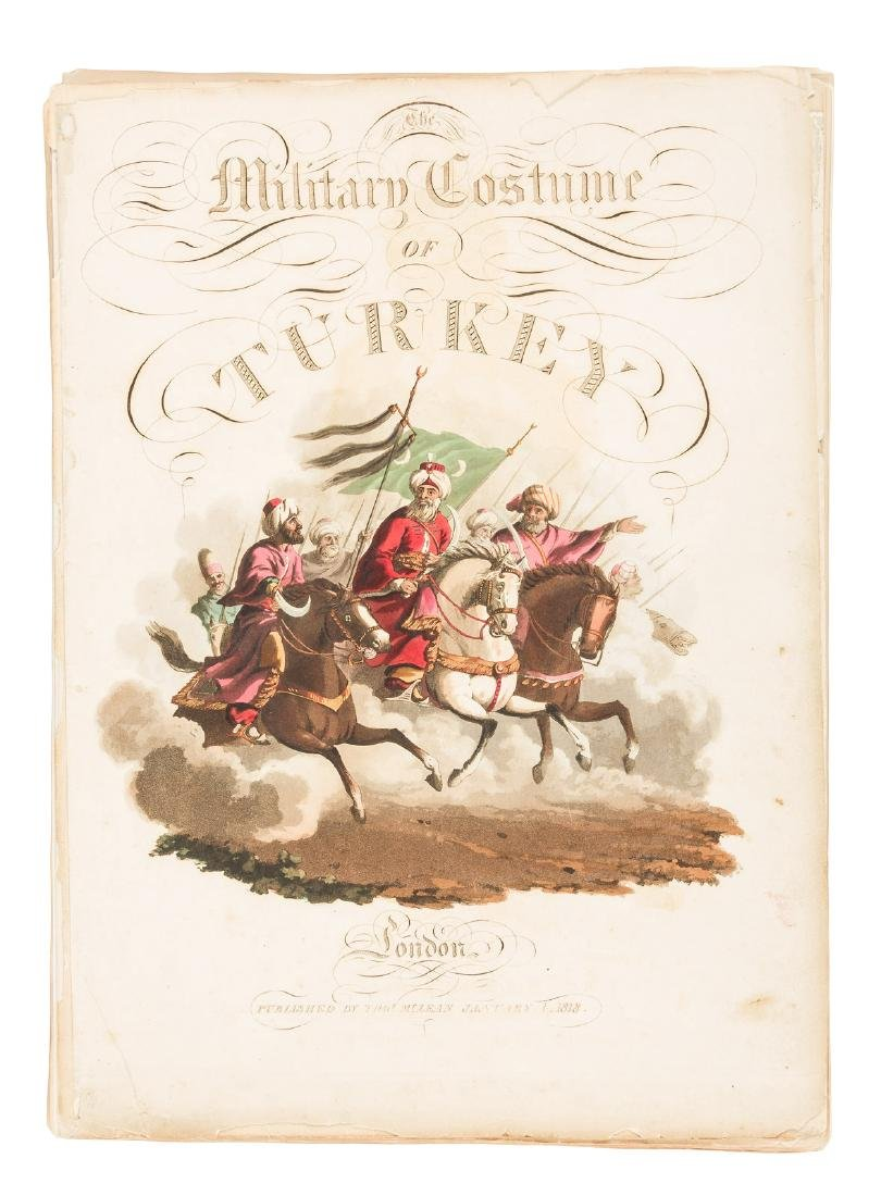 Military Costume of Turkey 30 color plates 1818