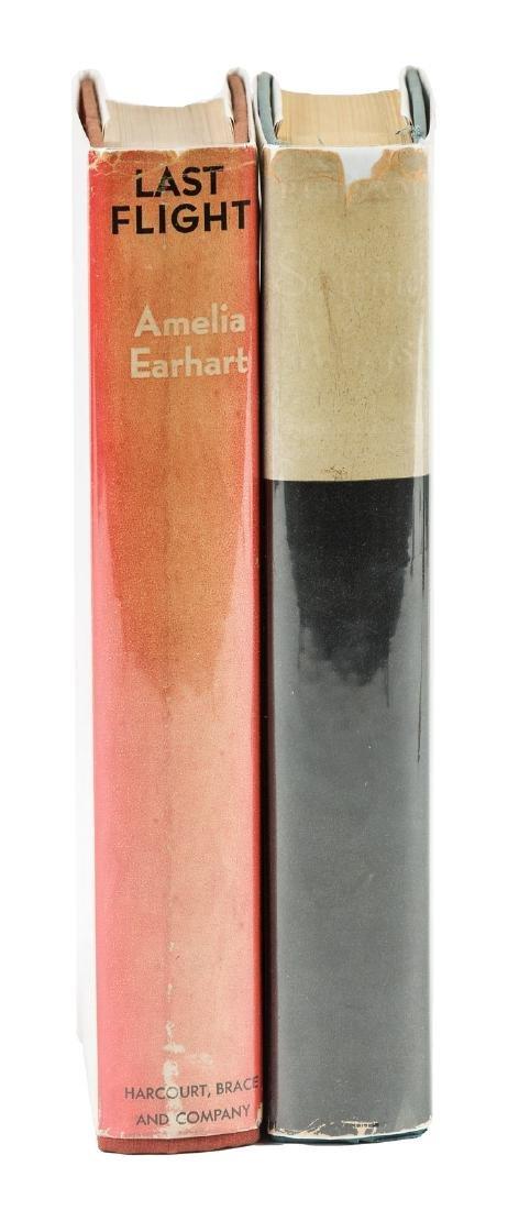 Two volumes on Amelia Earhart