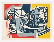 Roberto Burle Marx serigraph