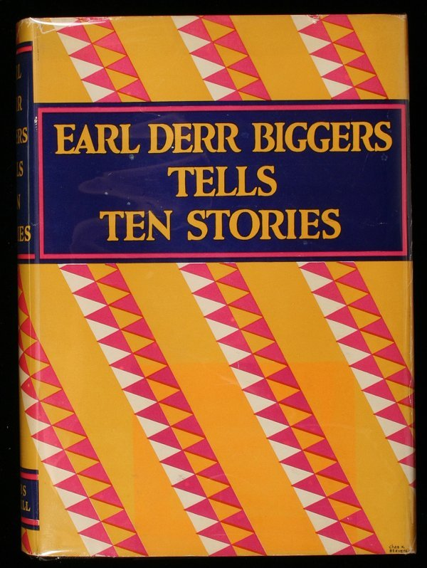 1016: Earl Derr Biggers Tells Ten Stories