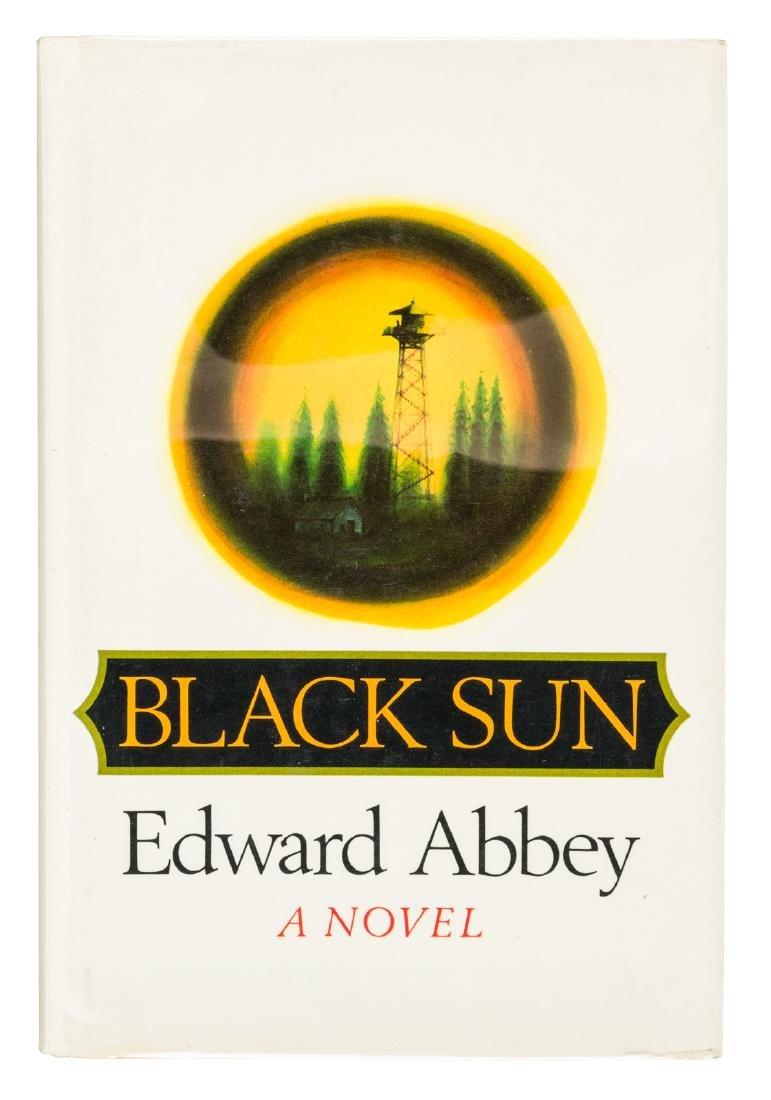 Edward Abbey Black Sun 1st Edition