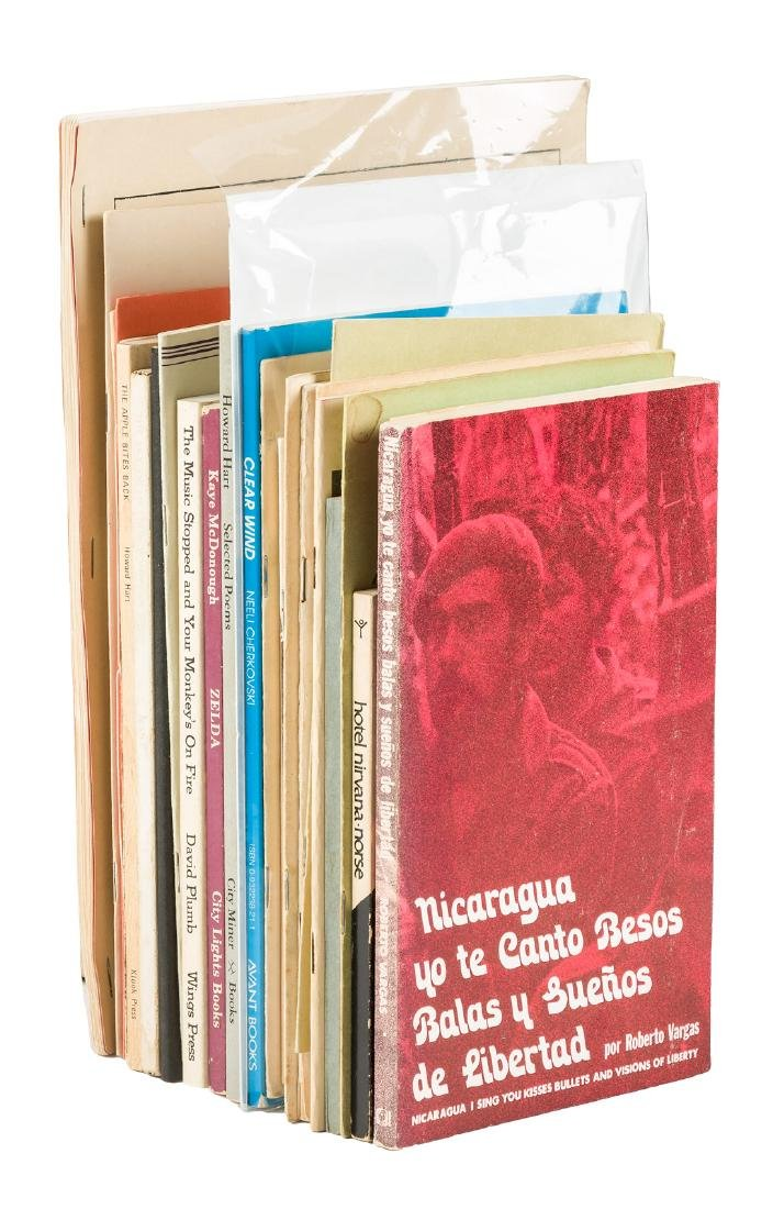 28 volumes of Beat poetry, all signed or inscribed