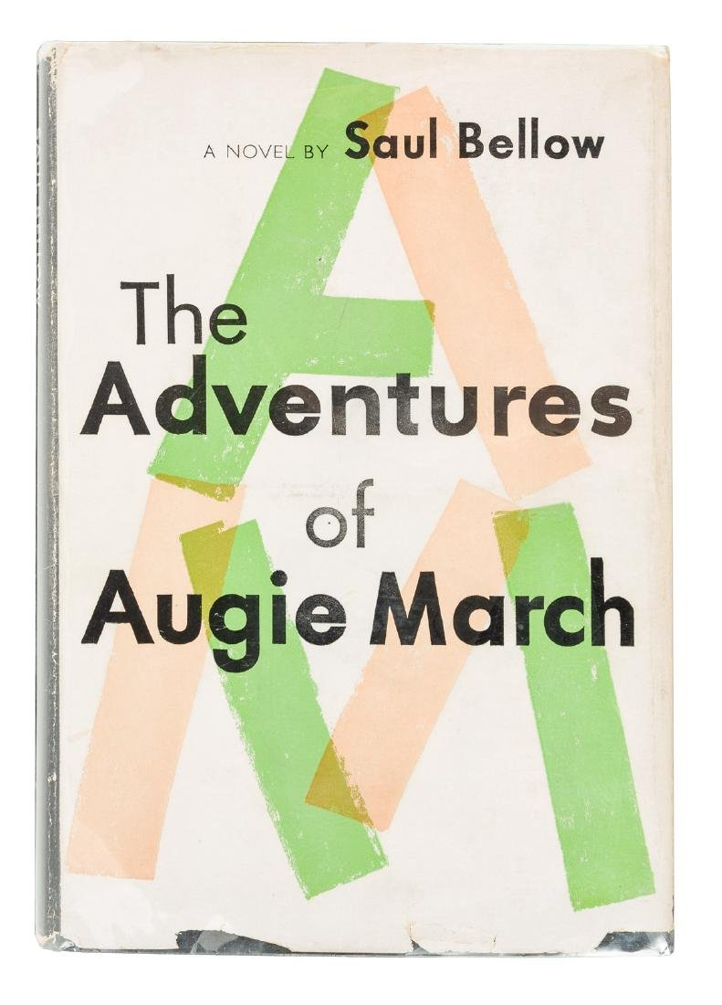 Augie March signed by Saul Bellow