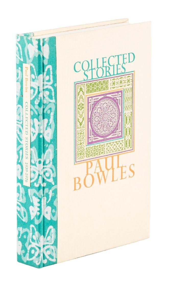 Paul Bowles Collected Stories 1/60 signed