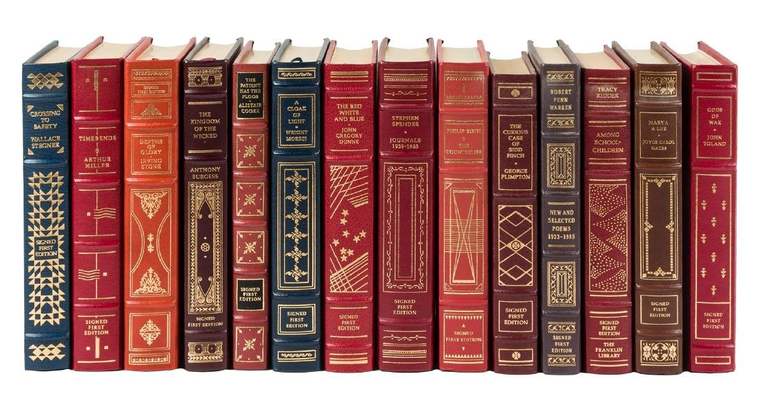 56 signed first editions from The Franklin Library
