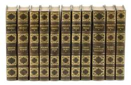 Novels of Tobias Smollett finely bound