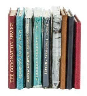 9 Miniature Books From Achille St. Onge
