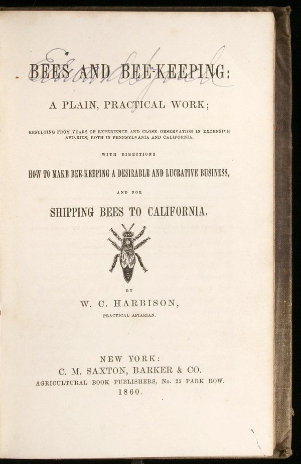 Bees and Bee-Keeping: A Plain, Practical Work; Re