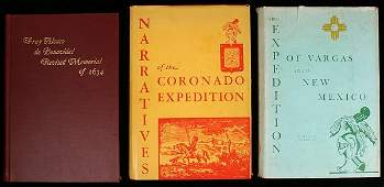 2256 Three volumes on Spanish explorations in North Am