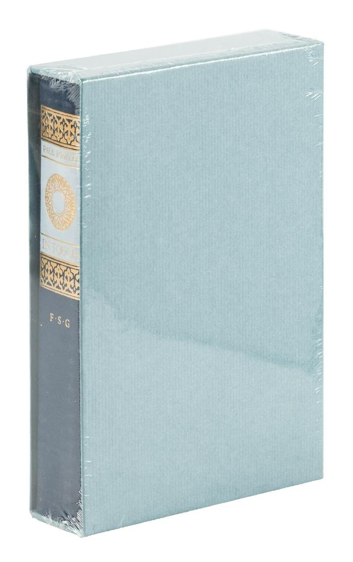 Letters of Paul Bowles signed limited edition