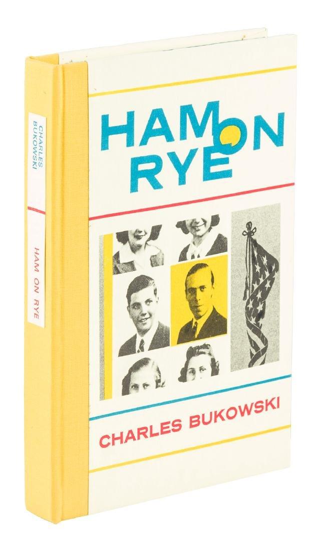 Charles Bukowski Ham on Rye Signed 1/350
