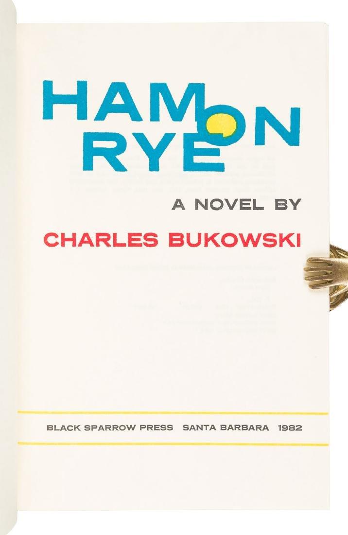Charles Bukowski Ham on Rye Signed 1/350 - 2
