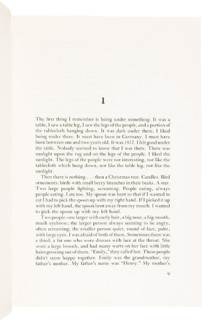 Charles Bukowski Ham on Rye Signed 1/350 - 4