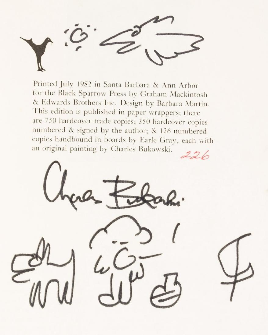 Charles Bukowski Ham on Rye Signed 1/350 - 5