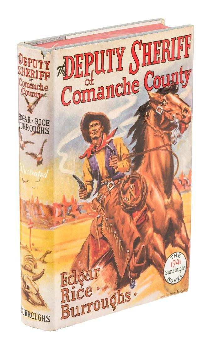 Burroughs Deputy Sheriff of Comanche County 1st w/dj