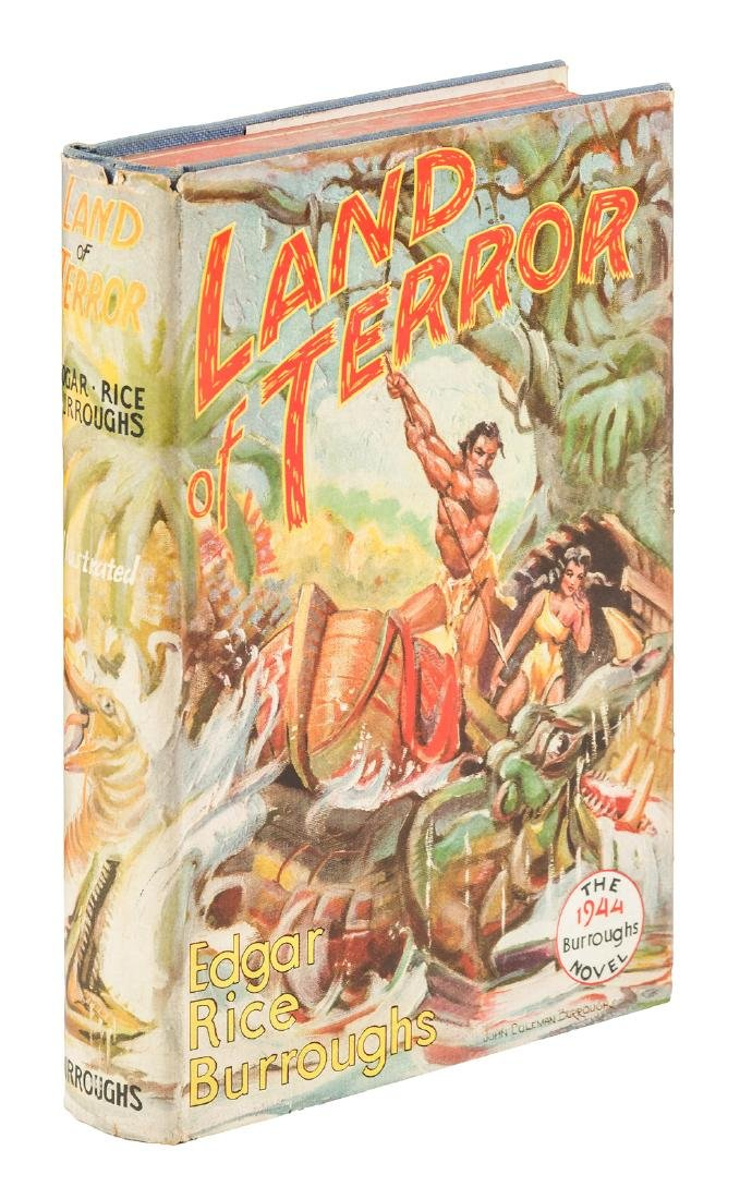 Edgar Rice Burroughs Land of Terror 1st w/jacket