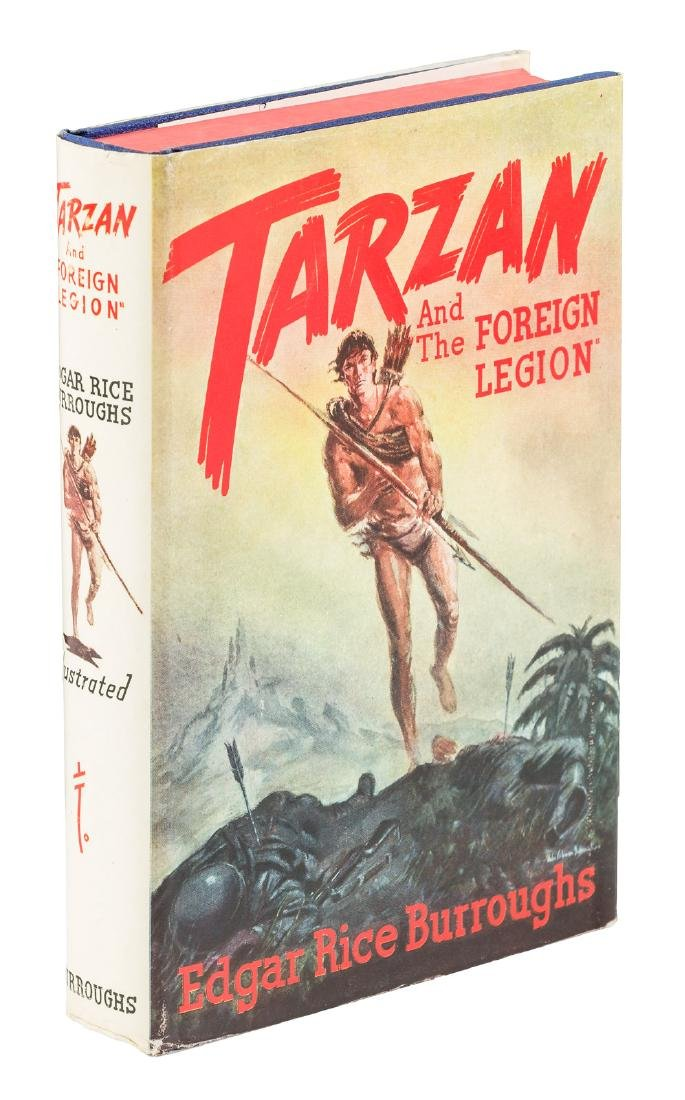 Tarzan and the Foreign Legion 1st  edition w/dj