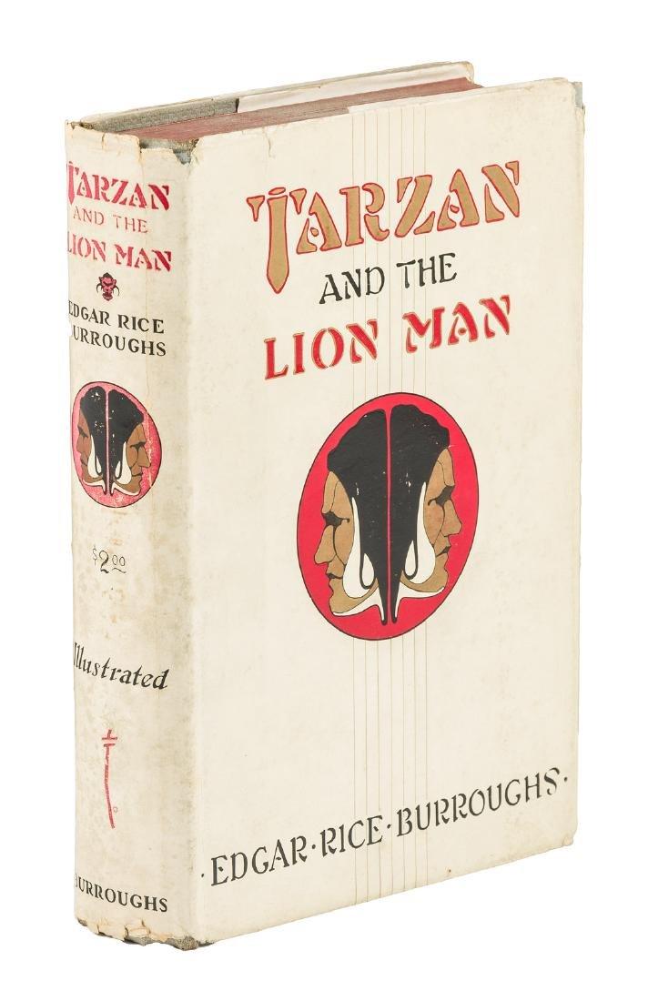 Burroughs Tarzan and the Lion Man 1st w/dj