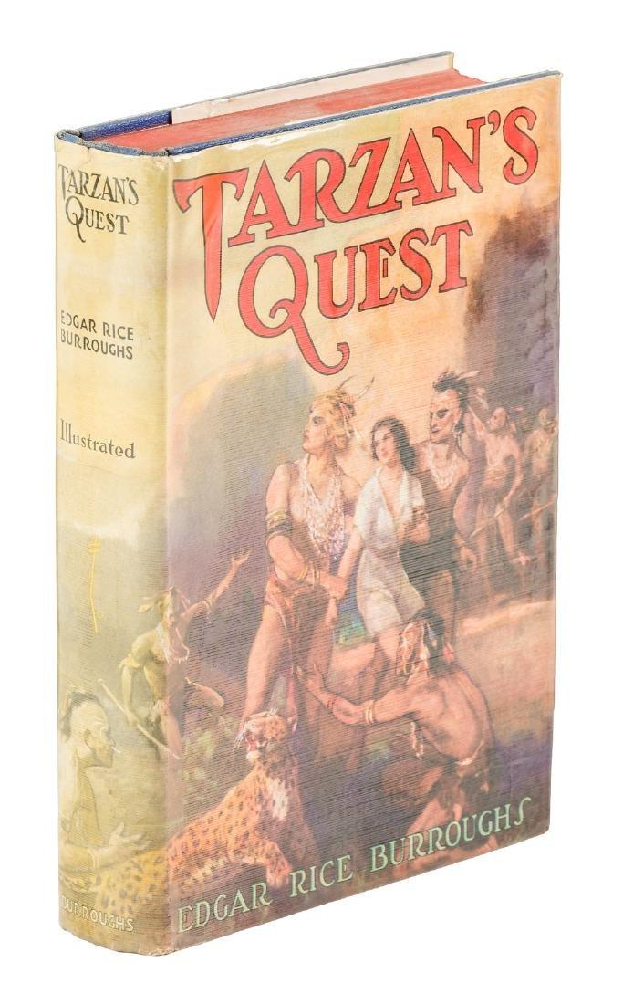 Burroughs Tarzan's Quest w/jacket