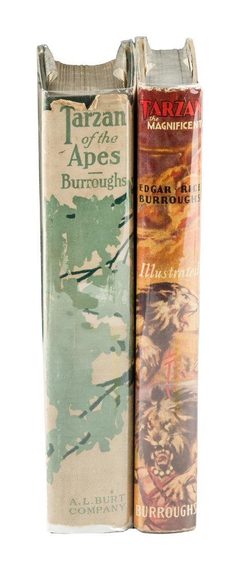 2 Tarzan titles in original dust jackets