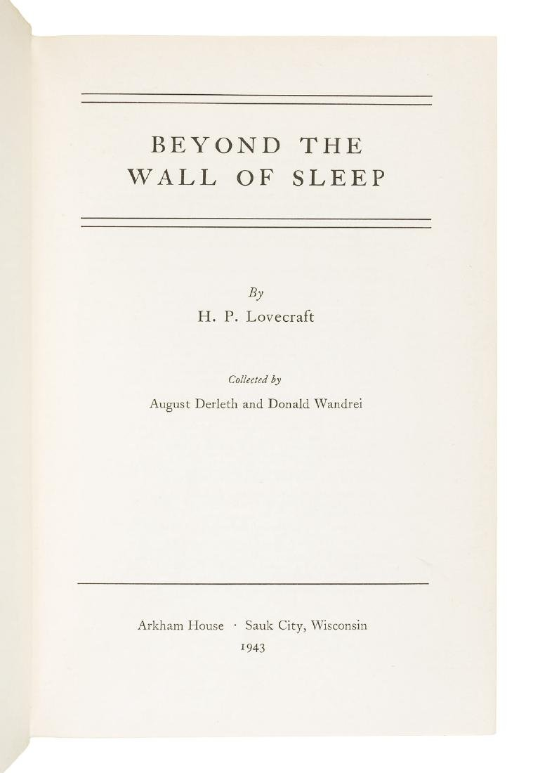 H.P. Lovecraft Beyond the Wall of Sleep - 3
