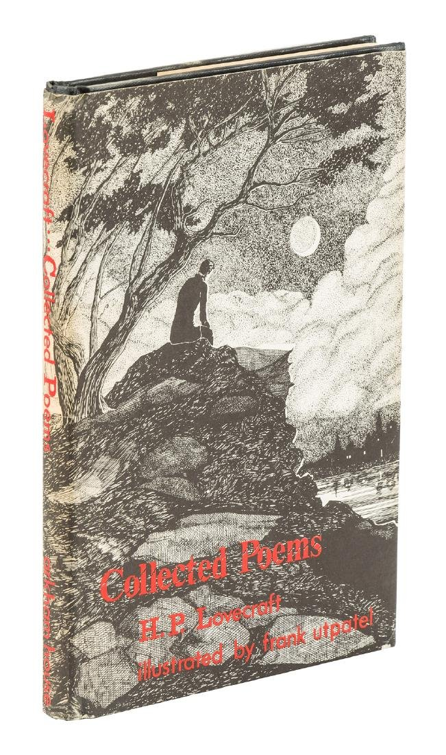H.P. Lovecraft Collected Poems signed by illustrator