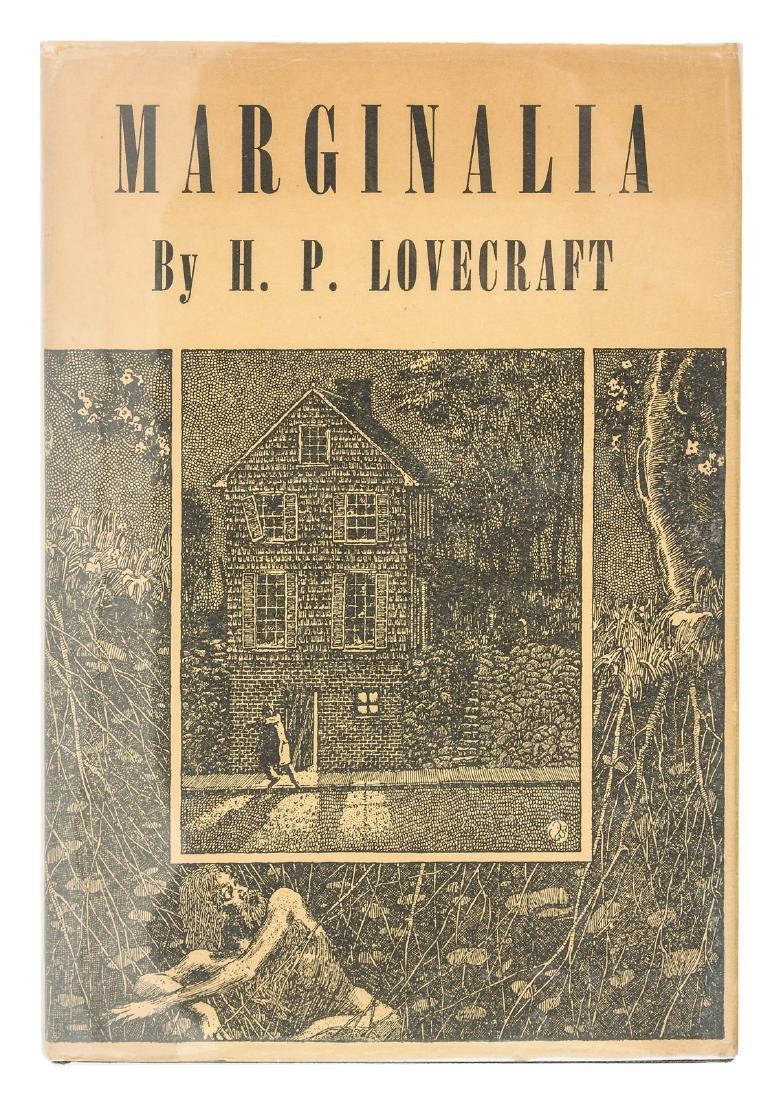 H.P. Lovecraft Marginalia - Donald Wandrei's copy