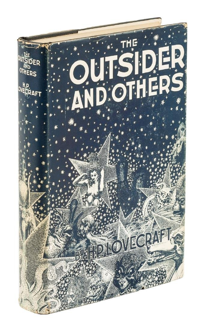 H.P. Lovecraft The Outsider first Arkham House book