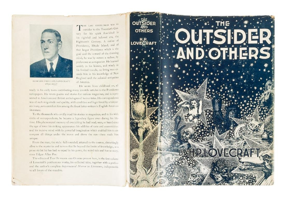 H.P. Lovecraft The Outsider first Arkham House book - 7