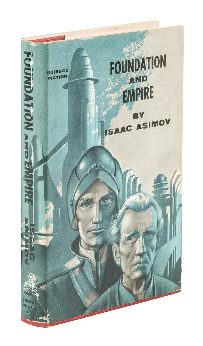 Isaac Asimov Foundation and Empire 1st ed w/jacket