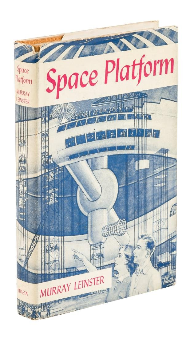 Murray Leinster, Space Platform scarce inscribed copy