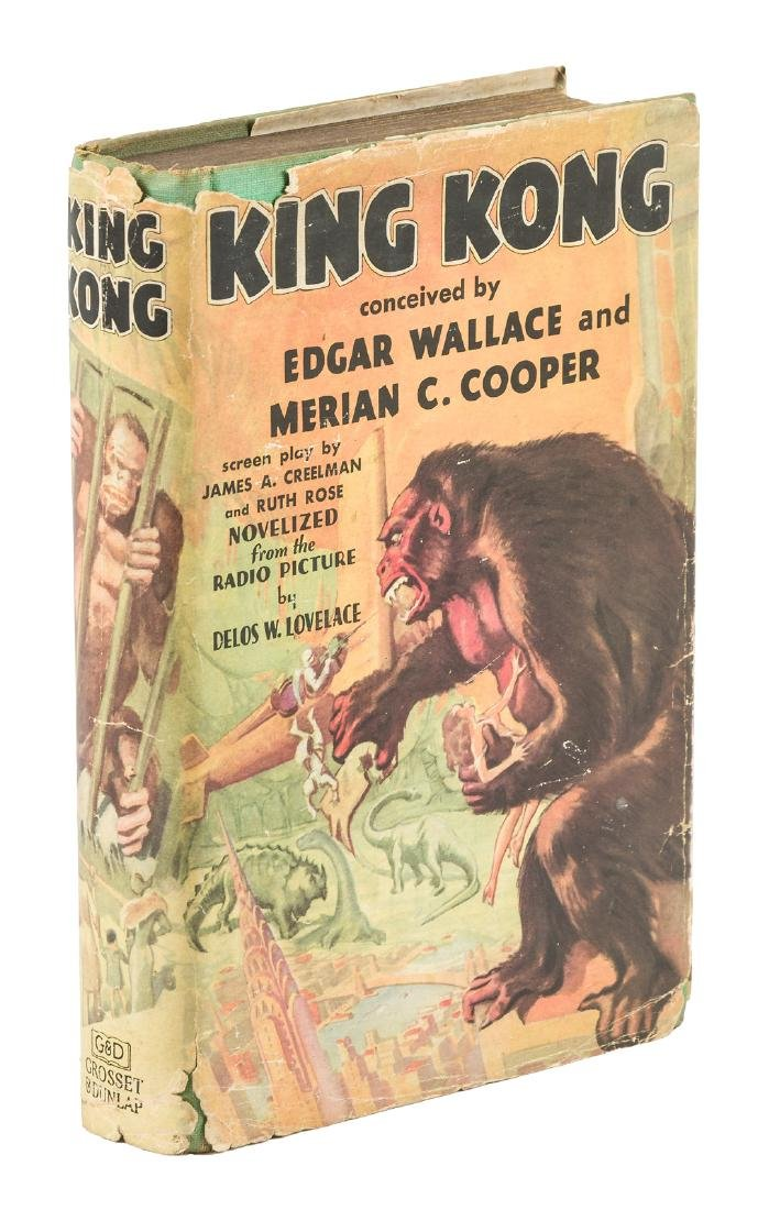 King Kong first edition in unrestored dust jacket 1932
