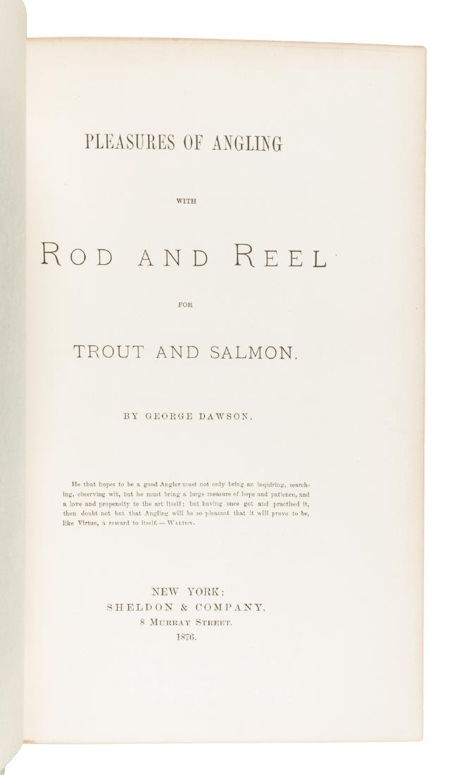 1st American book on fly fishing - 2