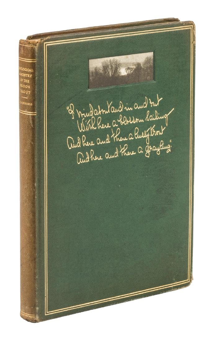 Ancestors of the Brook Trout, 1/300 copies