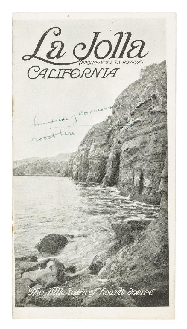 Scarce promotional booklet for La Jolla, California