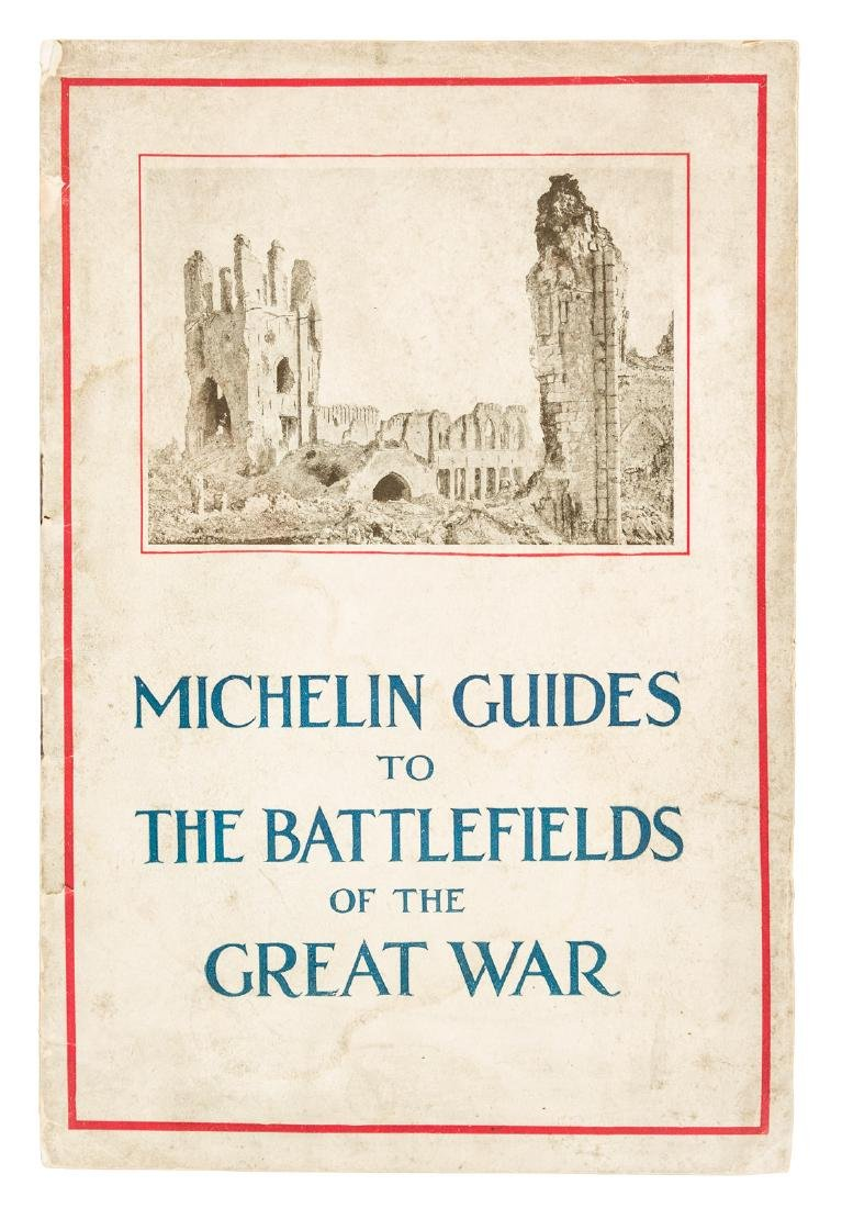 Michelin Guides to WWI Battlefields - 2