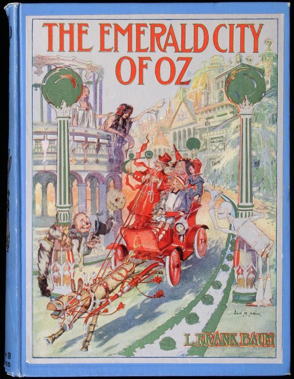 9: The Emerald City of Oz
