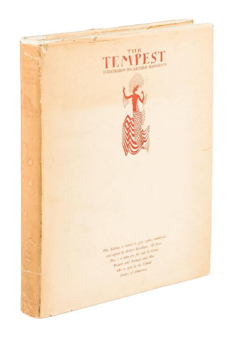 The Tempest Arthur Rackham Signed Limited Edition w/dj
