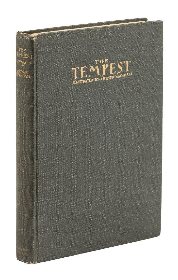The Tempest illustrated by Arthur Rackham