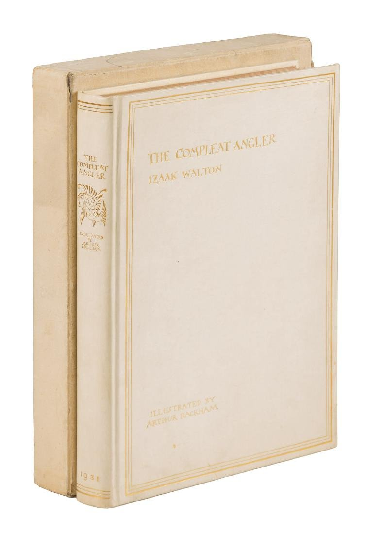 The Compleat Angler Illustrated by Arthur Rackham