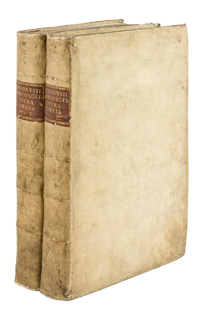 Opera of Pseudo-Dionysius the Areopagite, 1755-6