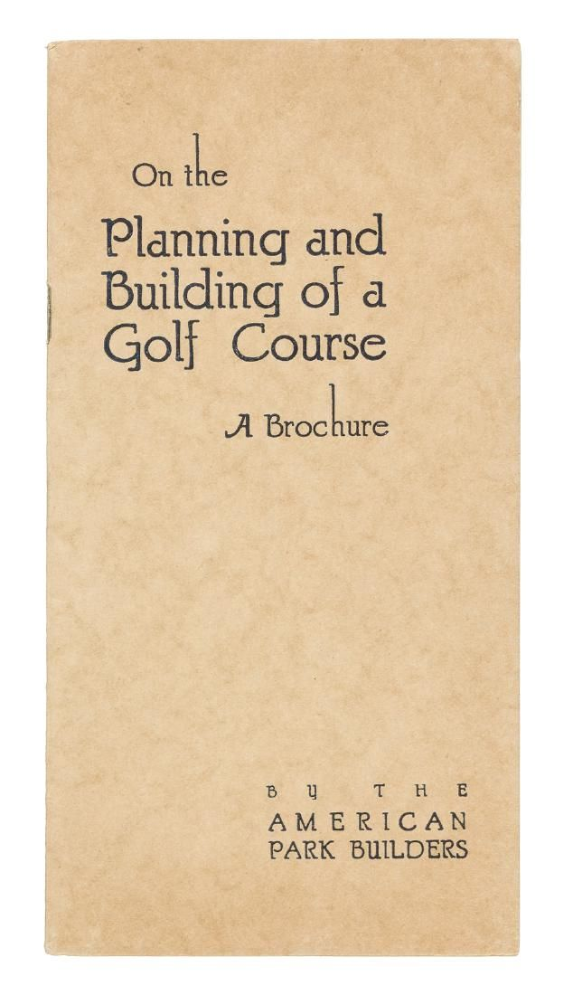 American Park Builders on Golf Course Planning