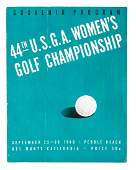 1940 USGA Womens Golf Championship Program