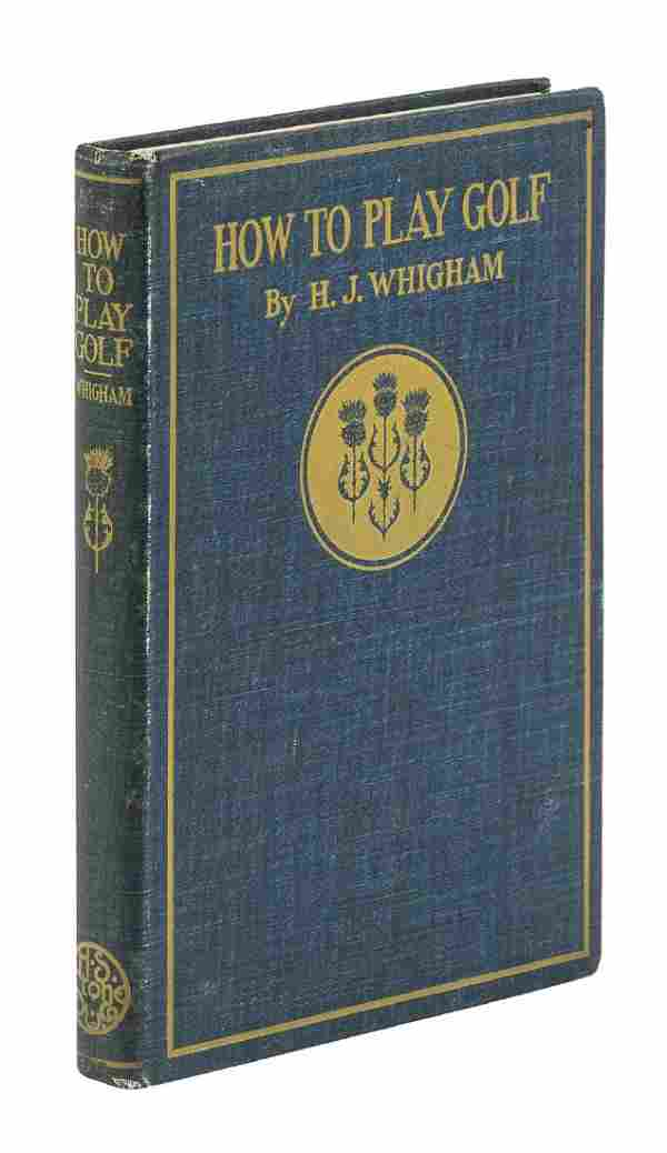 Whigham's How to Play Golf 1897